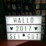 Wir wünschen ein gutes 2017!