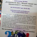"""Ein Buch – viele Bücher… Eine spannende Lesung im """"Sprechzimmer"""" am Alois-Harbeck-Platz"""
