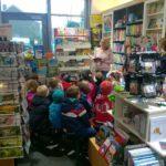 Kindergarten St. Josef besucht uns in der Buchhandlung