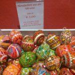 Die Eier aus der Ukraine sind wieder da.