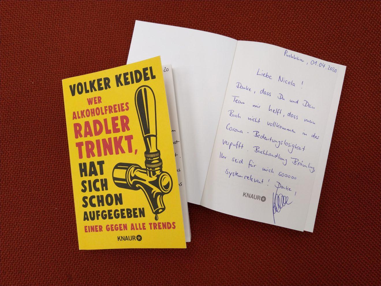 Neues Buch Volker Keidel