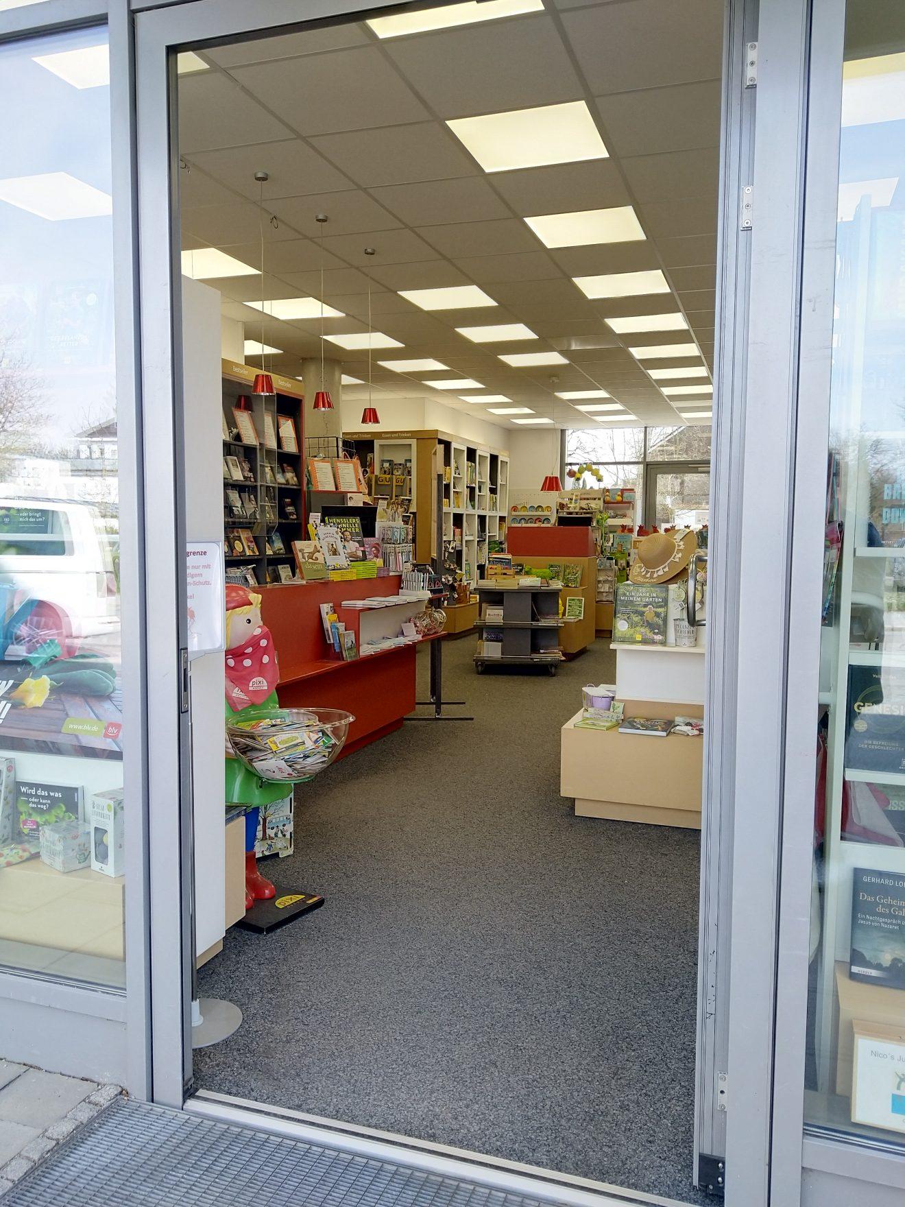 Eingang Buchhandlung