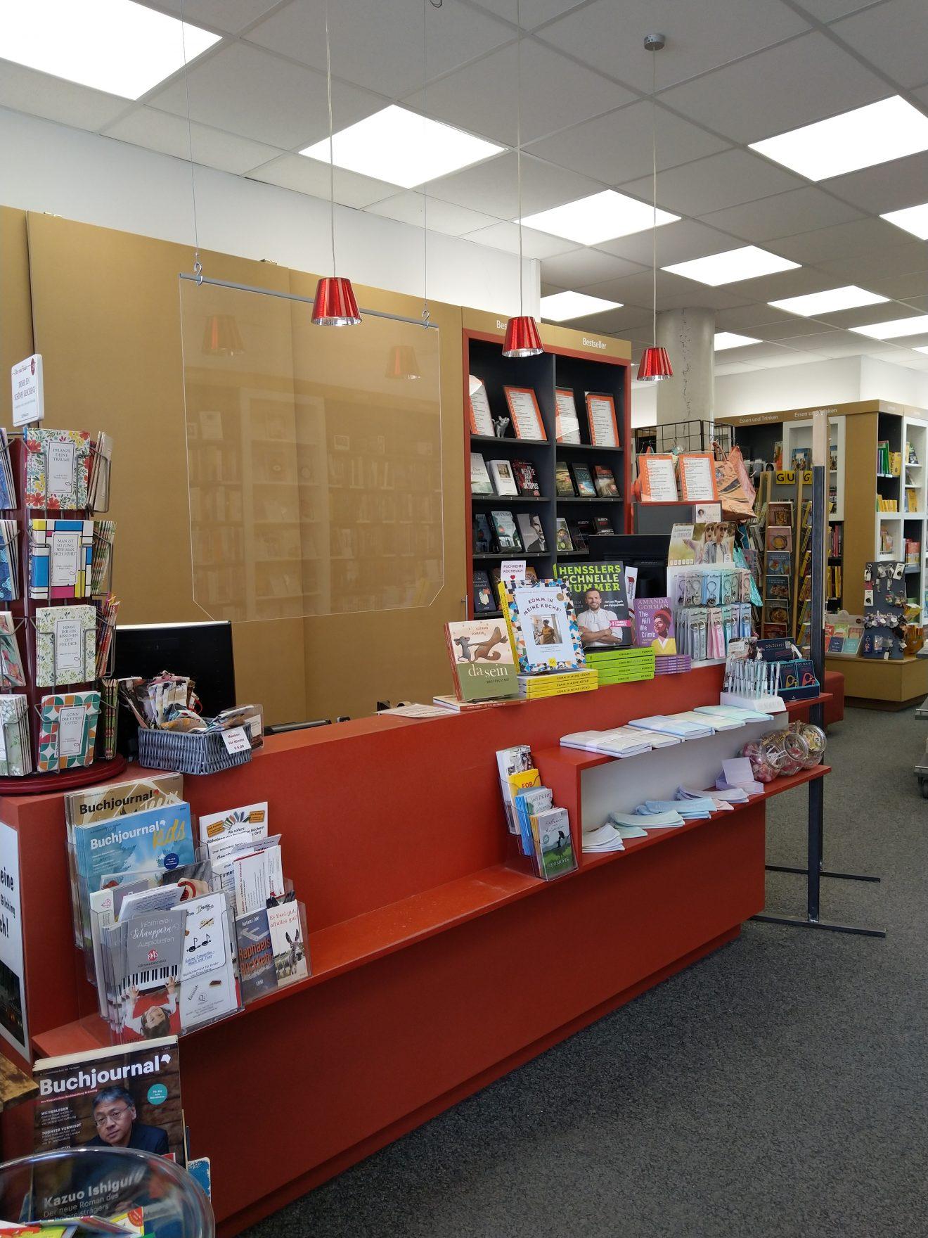 Empfang Buchhandlung